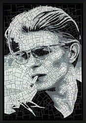 David Bowie I by David Arnott -  sized 24x35 inches. Available from Whitewall Galleries